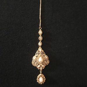 New Headpiece (Tikka) Indian Jewelry